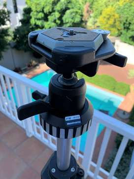 Manfrotto Art 055 Tripod With 168 Ball Head And Quick Release Plate