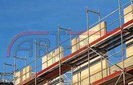 Rusztowanie rusztowania budowlane 306 m2 TOTALNA WYPRZEDAŻ
