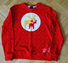 Sprzedam bluzę świąteczną w reniferki