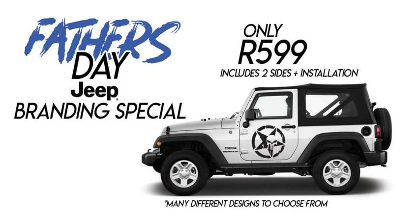 Fathers day Vehicle Branding Special 0