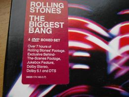 Rolling Stones The Biggest Bang DVD