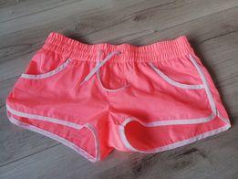 Szorty spodenki neon Calzedonia S XS nowe plażowe sportowe