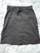 Bawełniana czarna spódnica rozm M