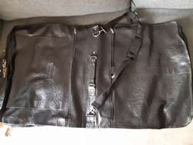 Black Leather Suit Cover