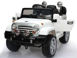 Nowy JEEP akumulatorowy, silnik 2x 12V,pojazd akumulatorowy pod choink
