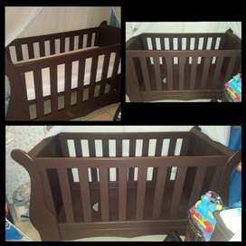 3 level sleigh cot