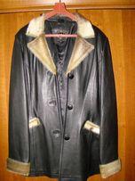 Продм женскую кожанную куртку 46 размера