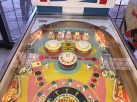Fun Land pinball machine, a 1 player classic by Gottlieb for sale