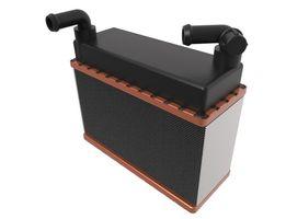 Радиатор отопителя печки 41.035-1013010 А (к отопителю 41.035-1013100)