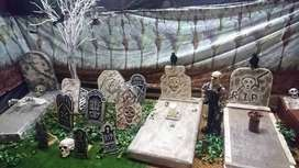 Halloween Decor & Props for Hire. Coffin for hire. Packages from R800
