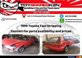 1999 Toyota Tazz 1.3 Stripping for spares