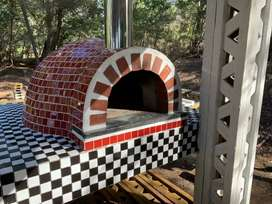 Wood fired oven installation DIY special