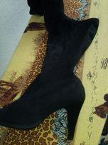 Весение сапоги чулки на большую ногу
