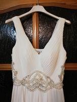 Biała sukienka na ślub/ poprawiny, rozmiar 36
