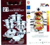 Image of 21-PCS Mafy Pot Set R1 649 Including Delivery (Up to 50%OFF)