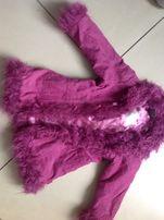 Куртка демисезонная, весна-осень вельветовая на 4-5 лет, 98-104 см.