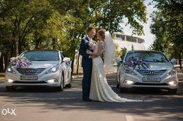 Прокат, Аренда Авто на свадьбу Hyundai Sonata YF 300 гр. В час