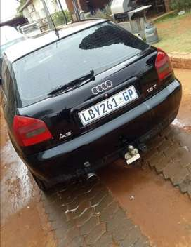 Audi A3 turbo with papers and license up to date