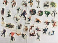 Наклейки Marvel Мстители, Человек-Паук, Люди икс, Шрек