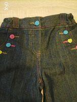 Spodnie dźinsowe 98cm