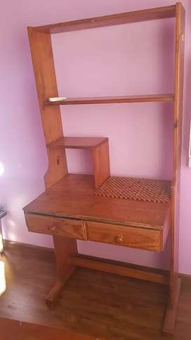 Bookshelf/ desk for sale