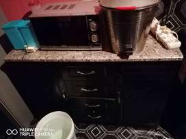Kitchen unit and four plate stove for sale