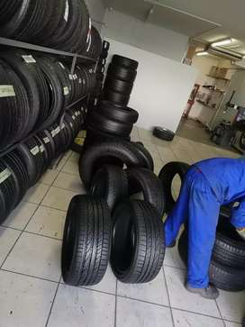 Quality brand new tyres and good second hand