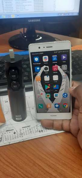 Huawei P9 lite with Altec bluetooth earbuds