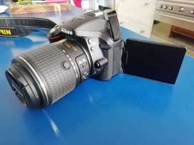 Nikon 5300 with 2 lenses for sale