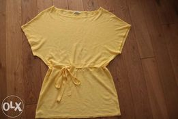 Bluzka,tunika / nietoperz - rozm.M + nowe rajstopy