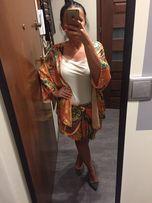 Zara komplet spodnica kimono S 36