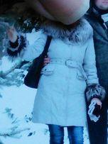 Продам зимний женский пуховик, пальто.