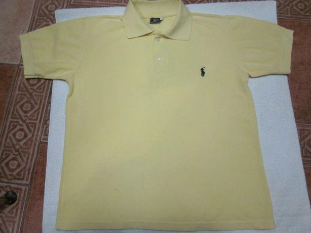 Ralph Lauren Polo T-Shirt męski roz. S kolor żółty Warszawa - image 2