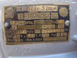 Электродвигатель двухскоростной 380в 2,8/2,2 kw. 2890/1440 об/мин