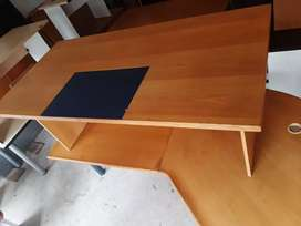 Huge Clearance Sale - Executive Leather Inlay Desk