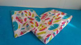Komplet pościeli poduszka rożek dla niemowlaka -Nowe!