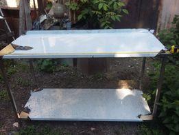 Стіл із нержавіючої сталі (нержавійки) кухонний