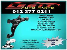 Legit Auto Parts we are Currently  Selling  TOYOTA HILUX CONTROL ARMS
