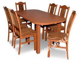 Zestaw Stół + 6 Krzeseł OFERTA OD PRODUCENTA! Tanie Krzesła i Stoły!