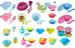 Детская посуда BabyOno мисочка, тарелочка канпол безопасных материалов