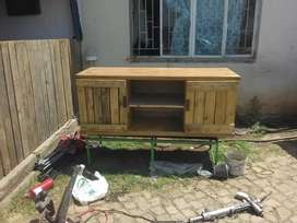 TV kas/wall unit/ tables beds steelwork call me