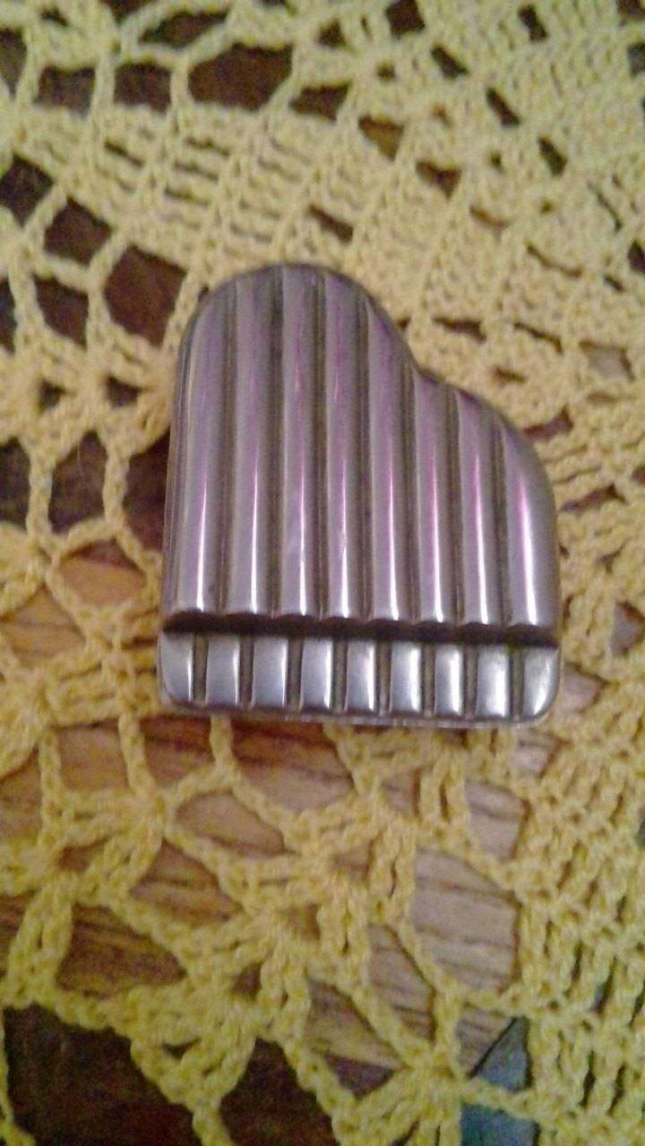 Vintage pill stainless steel case 0