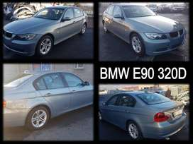 BMW E90 320D stripping for spares.