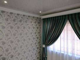 BLINDS AND CURTAIN RODS INSTALLATION