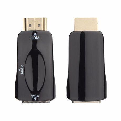 Конвертер переходник HDMI to VGA + ЗВУК , адаптер конвертор Кривой Рог - изображение 3