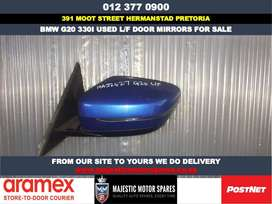 Bmw G20 330i used door mirrors for sale