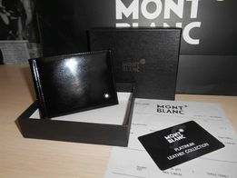 KLIP DO PIENIĄDZE PORTFEL MĘSKI Mont Blanc, skóra, Niemcy 8-6385