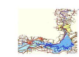 Карта рек Днепр и Дунай глубины Garmin