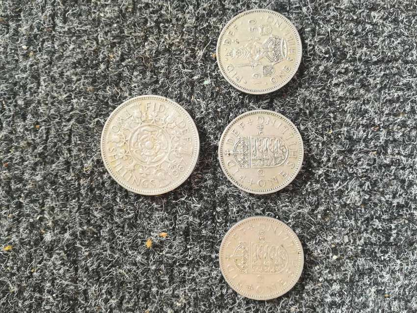 Coins from England 0
