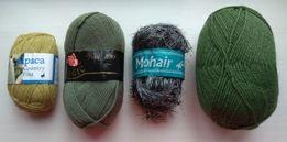 Пряжа , нитки для вязания